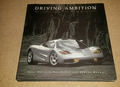 Driving Ambition, McLaren F1,Signed,with poster.
