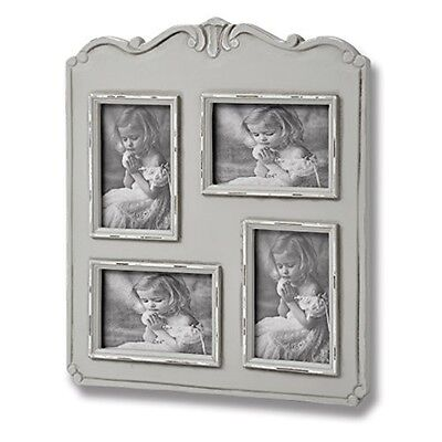 Fleur 4 Picture 4 x 6 Photo Frames - Multi Frame Holds Several Special