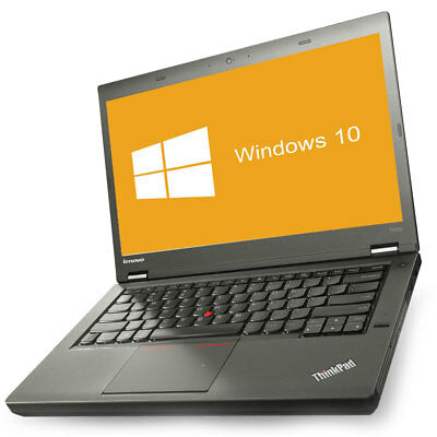 Lenovo ThinkPad T440p Notebook Intel Core i5 2x 2,6GHz 8 GB RAM 500 GB HDD Win10
