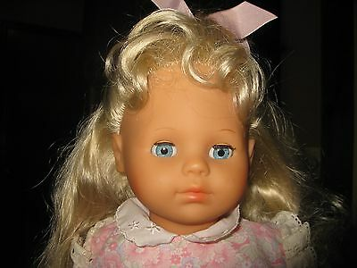 "20"" Zapf Creations Balica Doll - Blonde Hair & Blue Eyes"