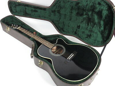 Takamine EG541C Electric Acoustic Guitar Black G-Series