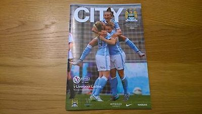 2015-16 Manchester City Ladies v Liverpool Ladies