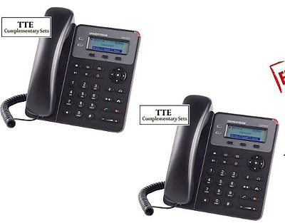 MAKE ME AN OFFER Bundle of 2 Grandstream GXP1610 2-Line HD SMB SIP Phone