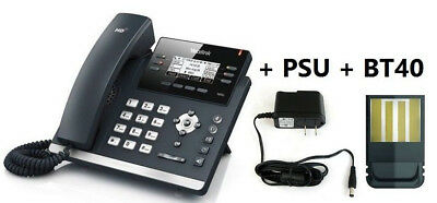 MAKE ME AN OFFER Yealink SIP-T46S Elegant GB HD IP Phone + PS + BT40 Dongle