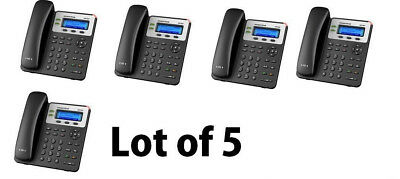 MAKE ME AN OFFER 5-PACK Grandstream GXP1625 2 Line VoIP IP Phone