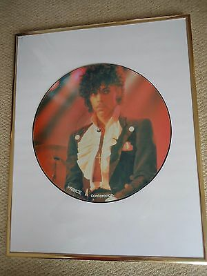 """PRINCE 12"""" Picture Disc IN CONFERENCE  INTERVIEW RARE PICTURE DISC"""