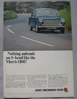 1966 1100 Morris Original advert No.1