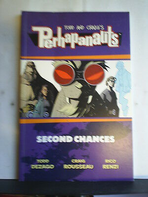 Graphic Novel: The Perhapanauts - Second Chances   Paperback
