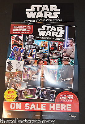Topps Star Wars Universe Sticker Collection = Set of 320 Stickers + Poster