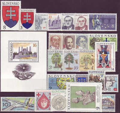 SLOVAKIA - 1993-2007 COMPLETE COLLECTION with SHEETS !! - **MNH** CHEAP !!