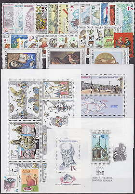 CZECH REPUBLIC - 2000-2008 COMPLETE COLLECTION with SHEETS !! - **MNH** CHEAP !!
