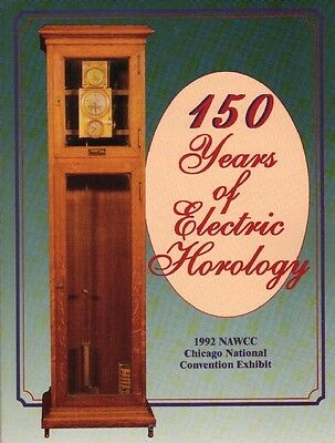 150 Years of Electric Horology by Crum and Keller, New Book, $0 ship