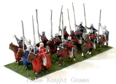 Essex Ancient Mini Feudal 15mm Mounted Knights Collection #7 NM