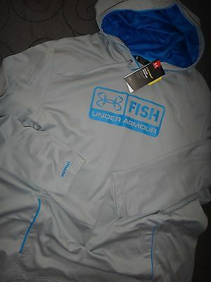 Under Armour Storm 1 Fish Hoodie Loose Fit Size 3Xl Men Nwt $$$$