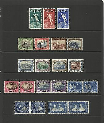 Swa South West Africa ( Namibia ) ~ King George Vi Part Sets