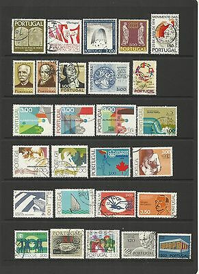 Portugal ~ Small Mid Modern Collection (#3) Most Postally Used