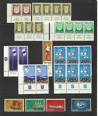 Israel ~ Small Mid Modern Collection (Mint Mnh) Tabs