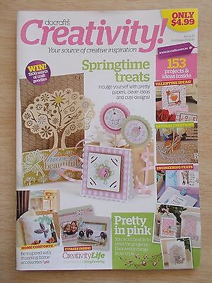 docrafts~Creativity #25~Cards~Birdcage~Home Decor~Cupcakes~Moving Cards