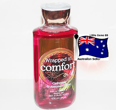 BATH & BODY WORKS ** Wrapped In Comfort ** SHOWER GEL 295ML Soft Cashmere Almond