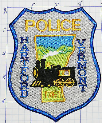 Vermont, Hartford Police Dept Gray Patch
