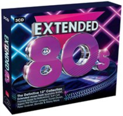 Various Artists-Extended 80s  (UK IMPORT)  CD / Box Set NEW