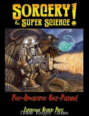 Expeditious Sci-Fi RPG Sorcery & Super Science! - Post-Apocalyptic Role SC MINT