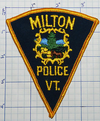 Vermont, Milton Police Dept Version 1 Patch
