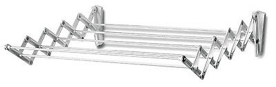 """Polder Wall-Mount 24"""" Accordion Clothes Dryer White 36101C"""