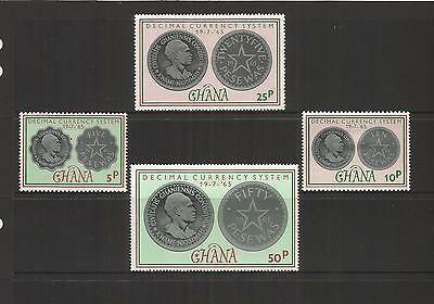 Ghana ~ 1965 Decimal Currency (Mint Set Mh)