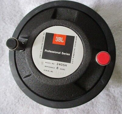 JBL Model 2405H Slot UHF High Frequency Transducer / Tweeter. 8 ohms