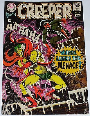 Beware the Creeper #1 from June 1968 VG- to VG+