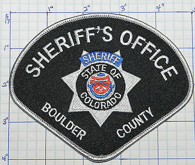 Colorado, Boulder County Sheriff's Office Patch