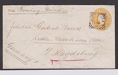 India Square Circle Cancel Magdeburg Germany   (Ast23