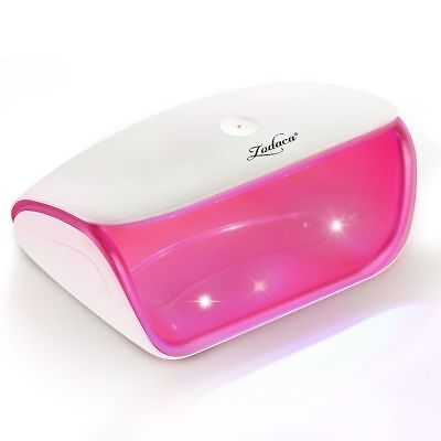 Professional Touch Sensor LED Nail Polish Dryer Lamp For Gel Art White/Hot Pink
