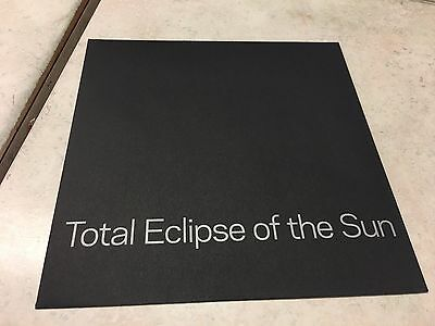 US Total Eclipse of the Sun Protective Sleeve 2017