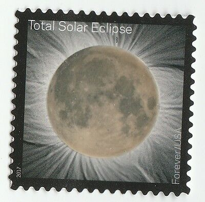 US 5211 Total Eclipse of the Sun forever single (1 stamp) MNH 2017