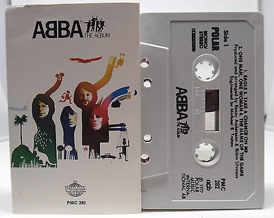 Abba the album MC Kassette Polar PMC 282