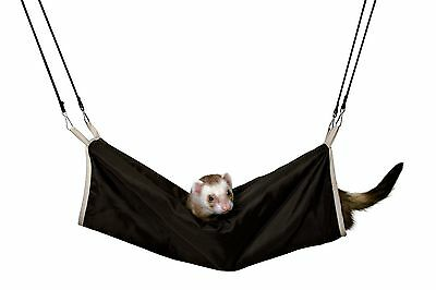 6910 Trixie Pet Rat Cuddly Hanging Tunnel Cage Bed Green Or Brown