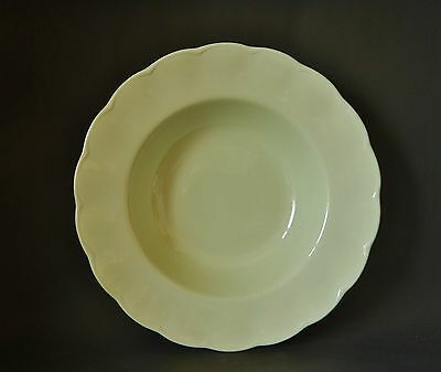 Grindley Almond Petal Pale Green Soup Bowl 10 Inches Great Condition