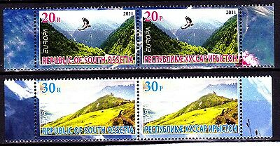 EUROPA CEPT - 2011 - South Ossetia - (The Forests) ** MNH