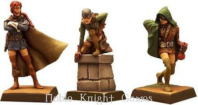 Fenryll Fantasy Mini Resin 28mm Female Thieves #2 Pack MINT