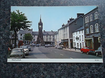 Postcard Machynlleth High St / Square Mid 1970S
