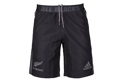 adidas New Zealand All Blacks 2017/18 Territory Woven Rugby Shorts