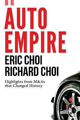 Auto Empire by Eric Choi (English) Paperback Book Free Shipping!