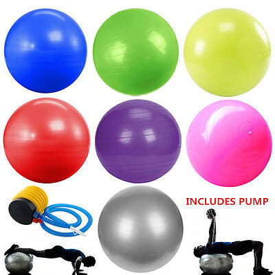 Exercise Fitness Aerobic 65cm Ball for GYM Yoga Pilates Pregnancy Birthing Swiss