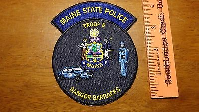 Maine State Police Troop E Bangor  Barracks  Maine State Troopers Highway Patrol