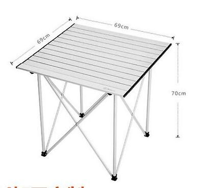 Aluminium Folding Foldable Portable Camping Picnic Dining Garden Table Chair