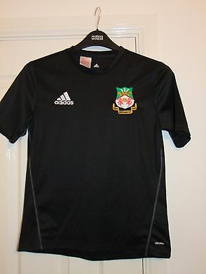 Adidas WREXHAM FC Non League Football Training Shirt 11-12 Years Soccer Top