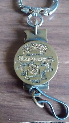 Vintage Chicago key chain ..Old water tower civic opera McCormick place ect