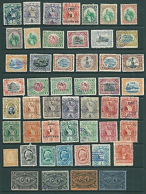 GUATEMALA - A vintage collection of stamps from the 19th Century onwards